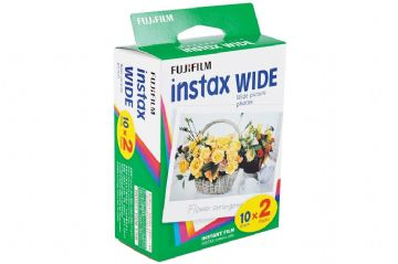 Fujifilm Instax Wide Picture Format Film Pack of 10 Sheets x2 for 210 300